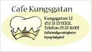 PREMIÄR FÖR CAFÉ KUNGSGATANS BAKGÅRD @ Café Kungsgatan | Lysekil | Sweden